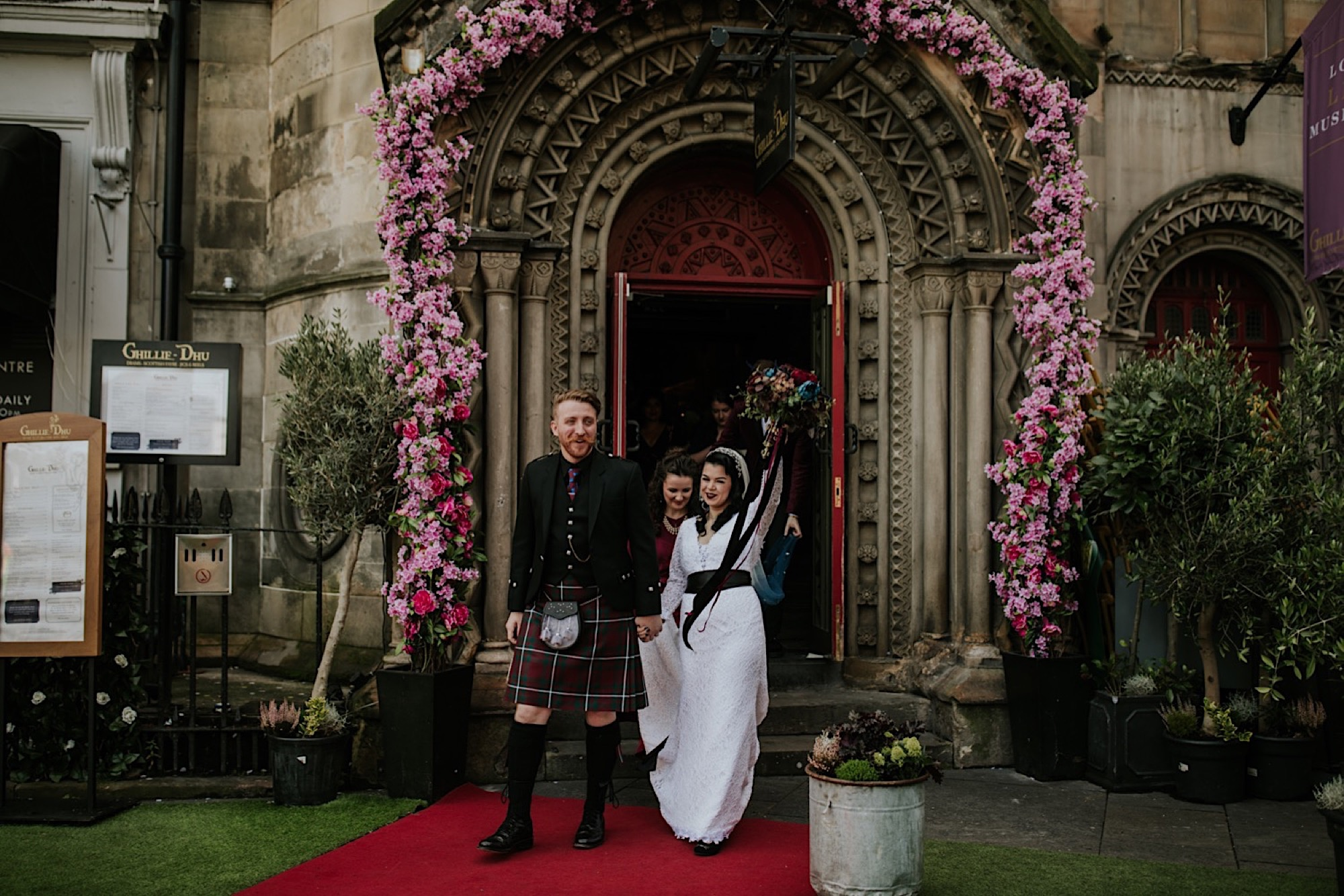 autumn wedding at ghillie dhu