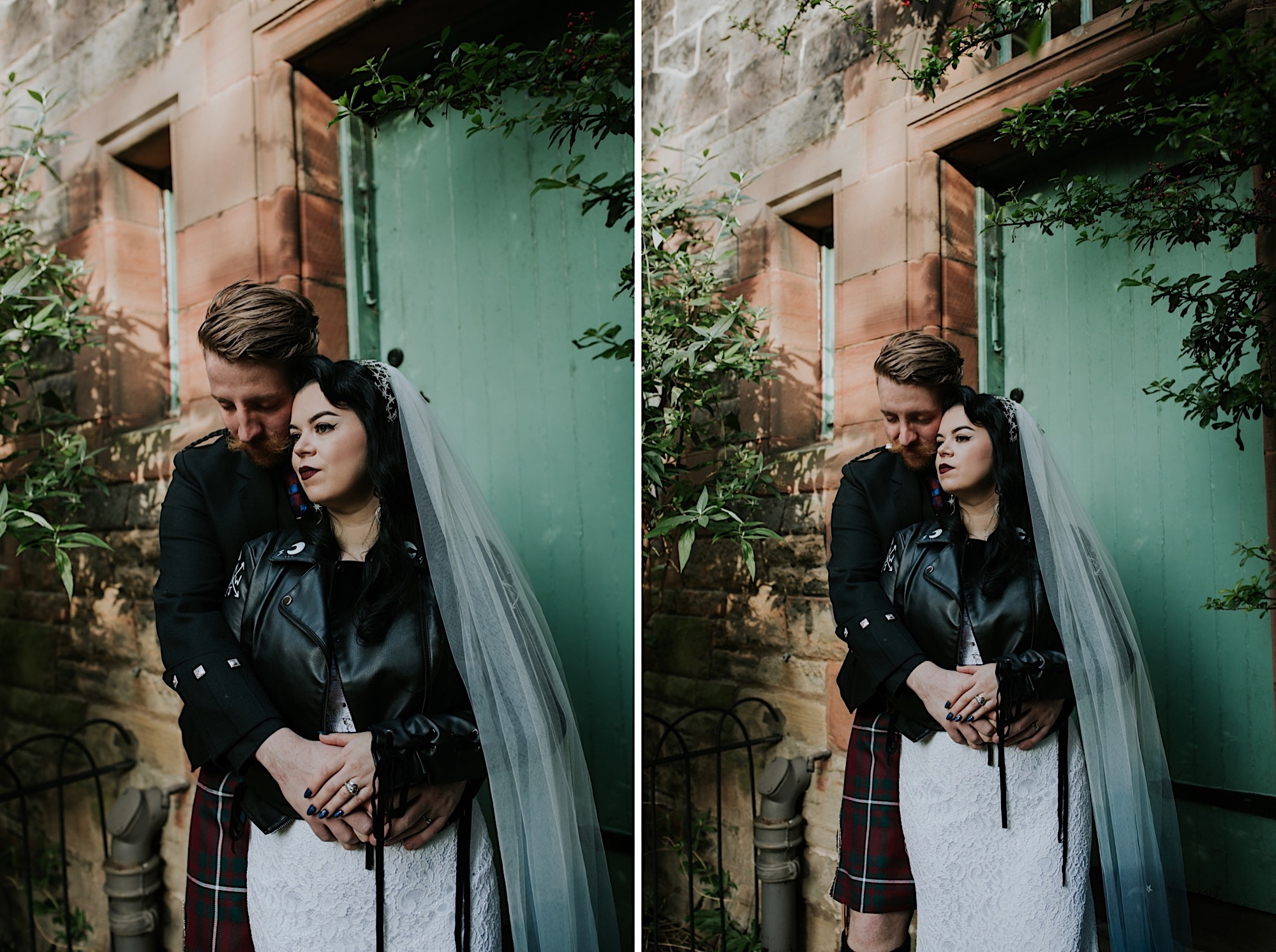 alternative edinburgh wedding photographer