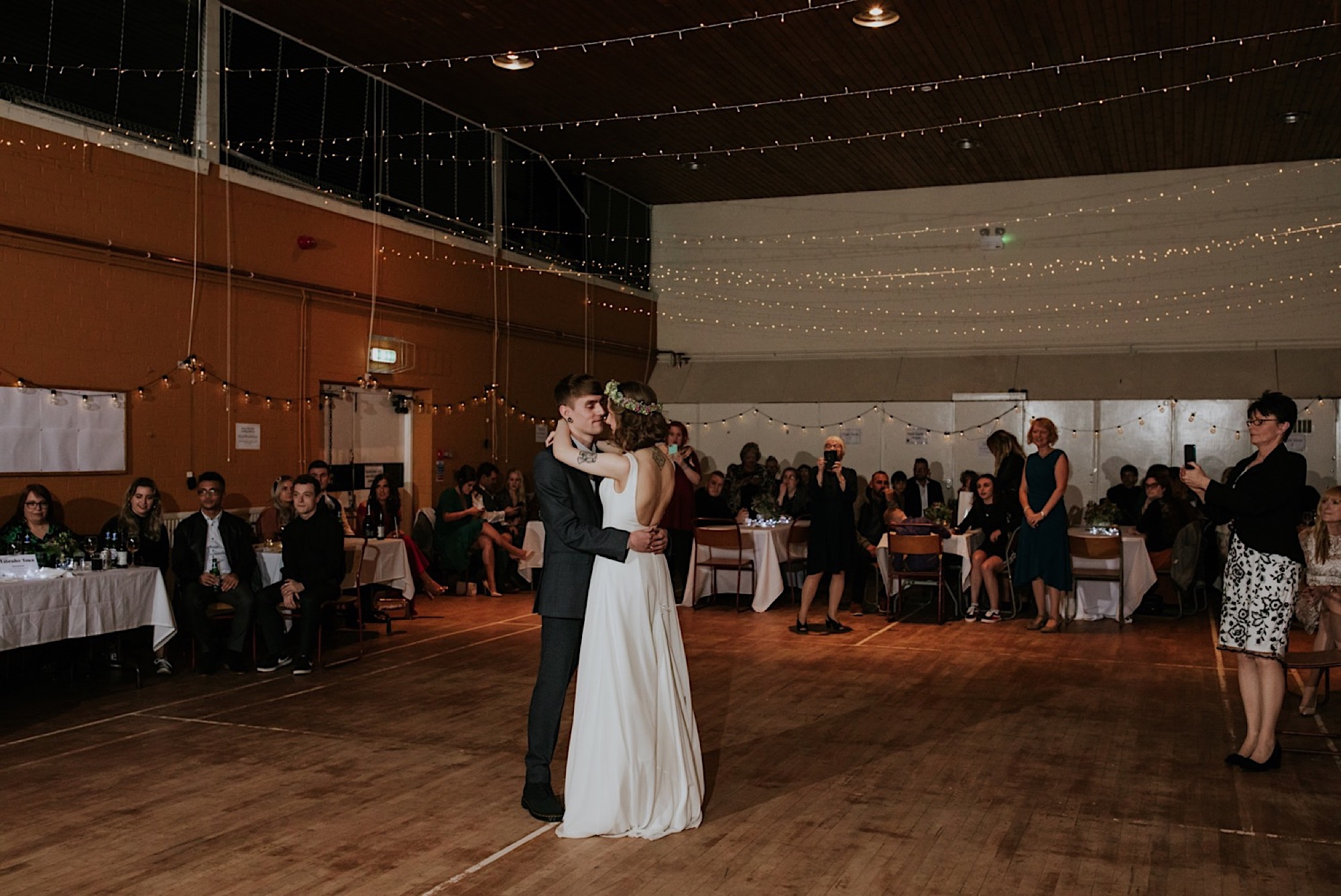 alternative wedding photographer edinburgh