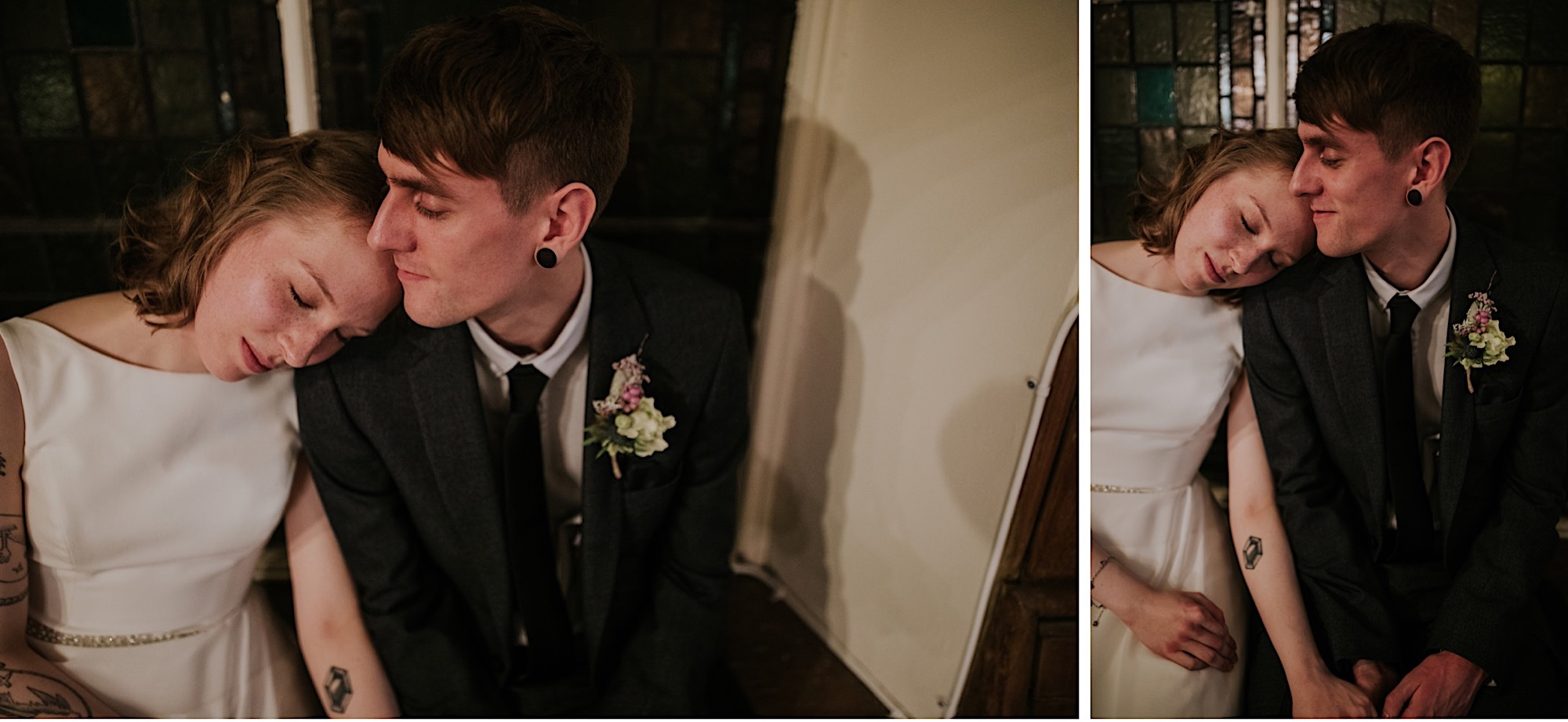 bellfield diy wedding edinburgh portobello
