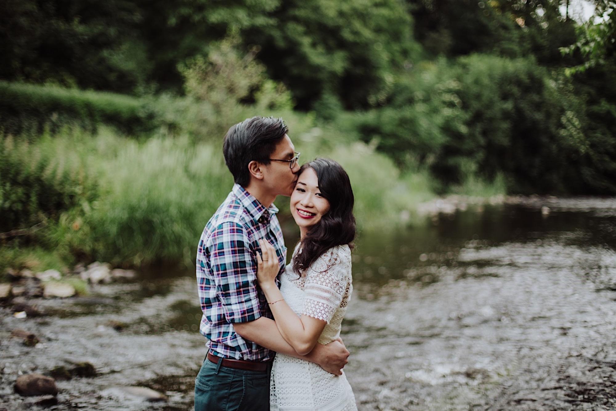 dean villiage edinburgh couple photoshoot