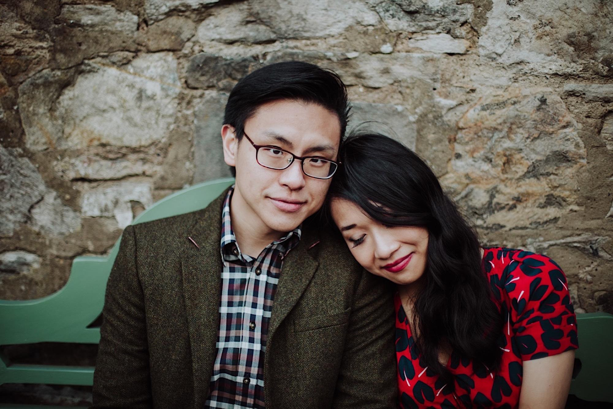edinburgh engagement photo session