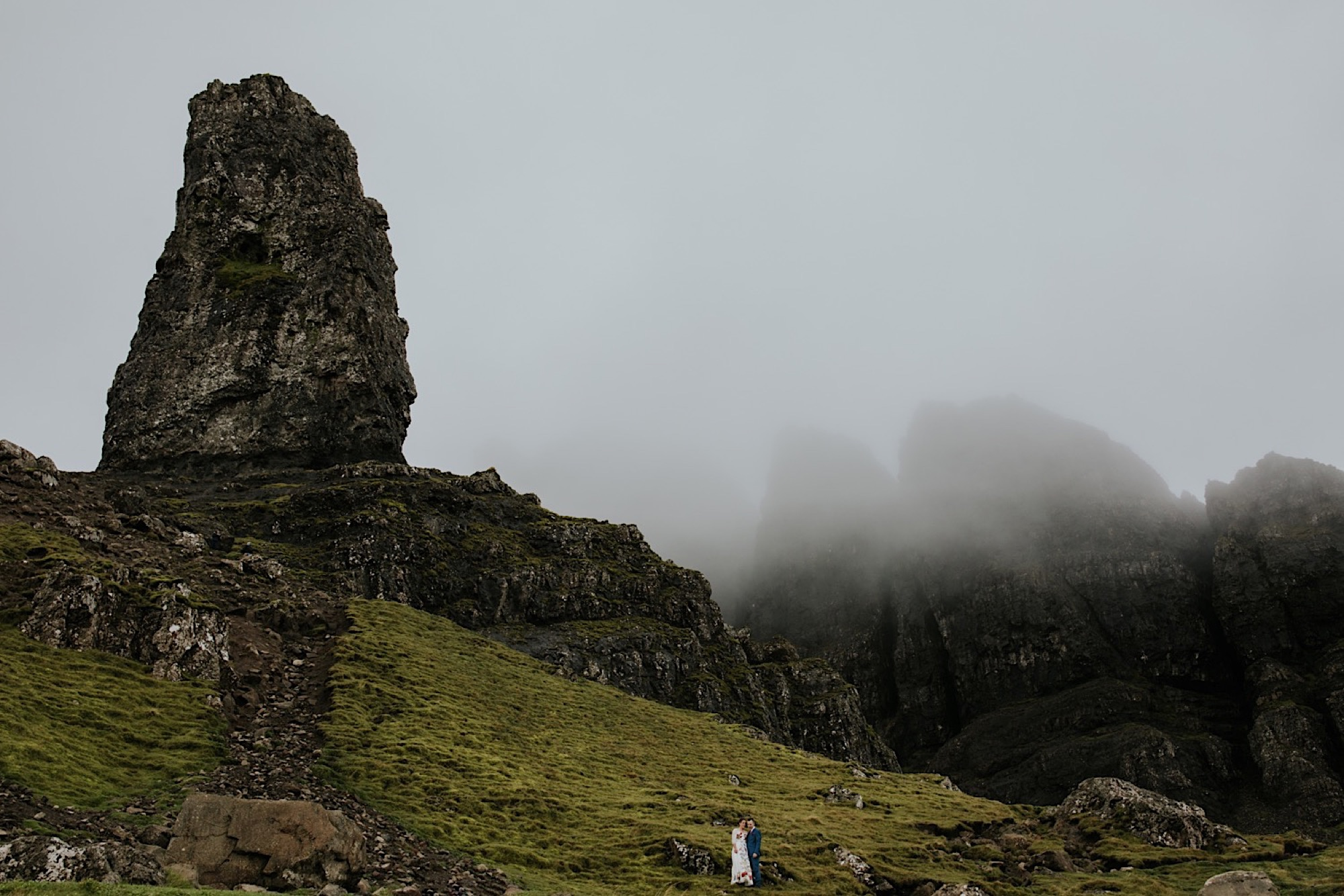 old man of storr elopement photographer