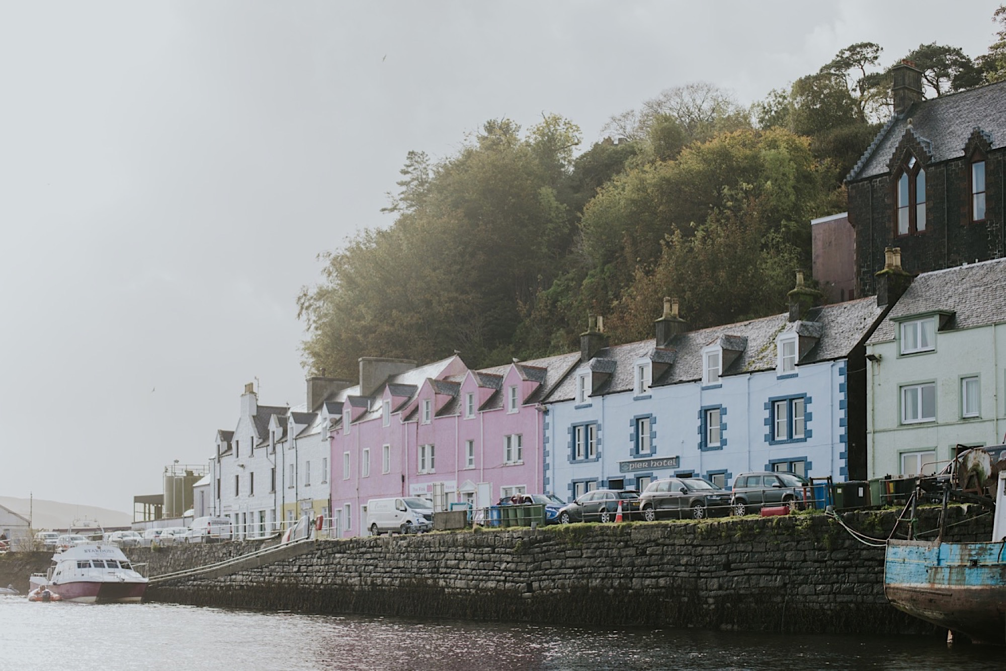 portree harbour wedding photos