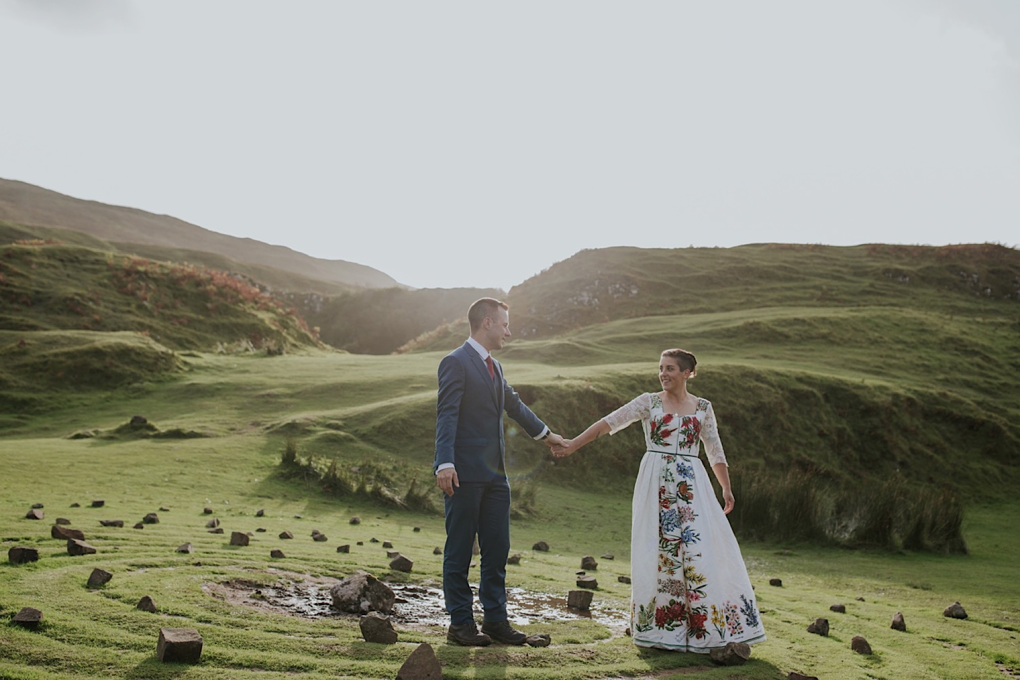 fairy glen wedding photos elopement