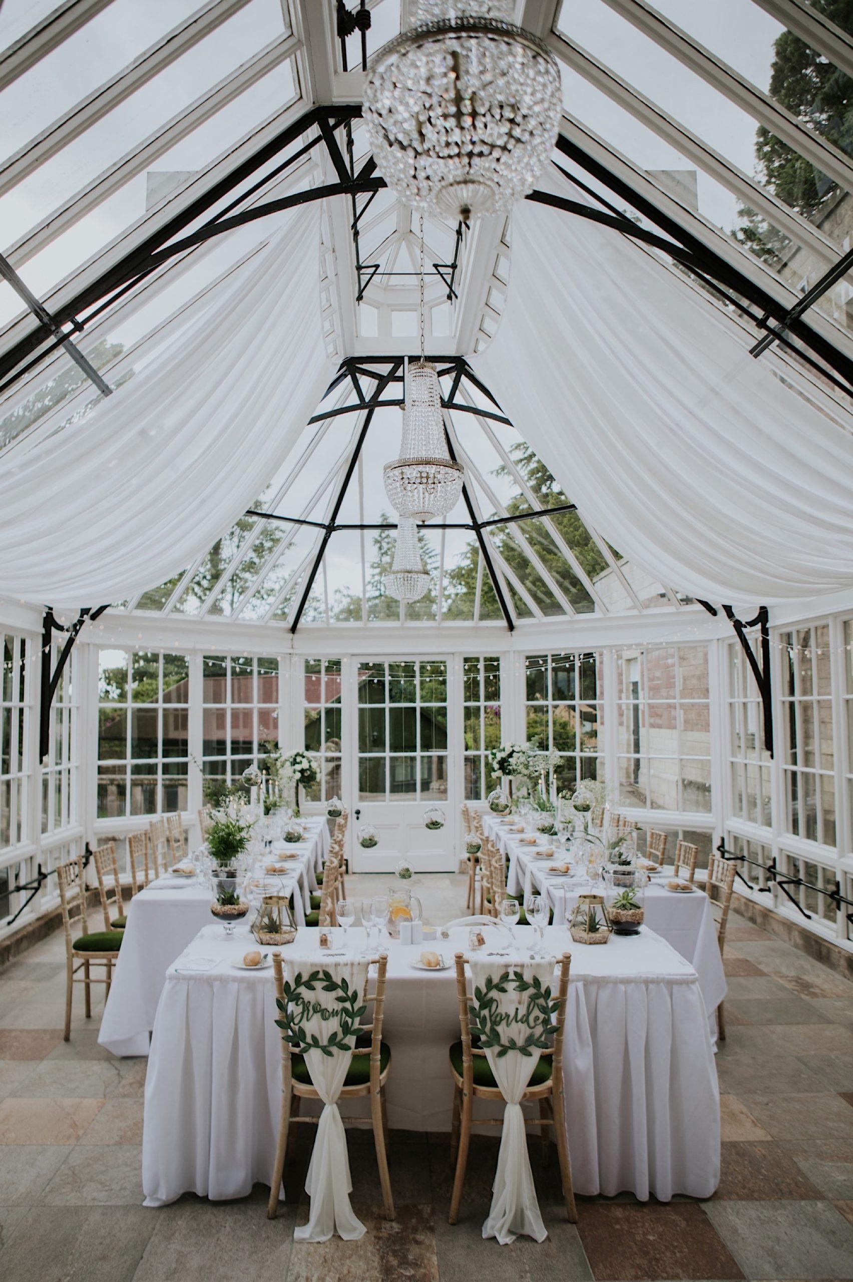 succulents as wedding decor