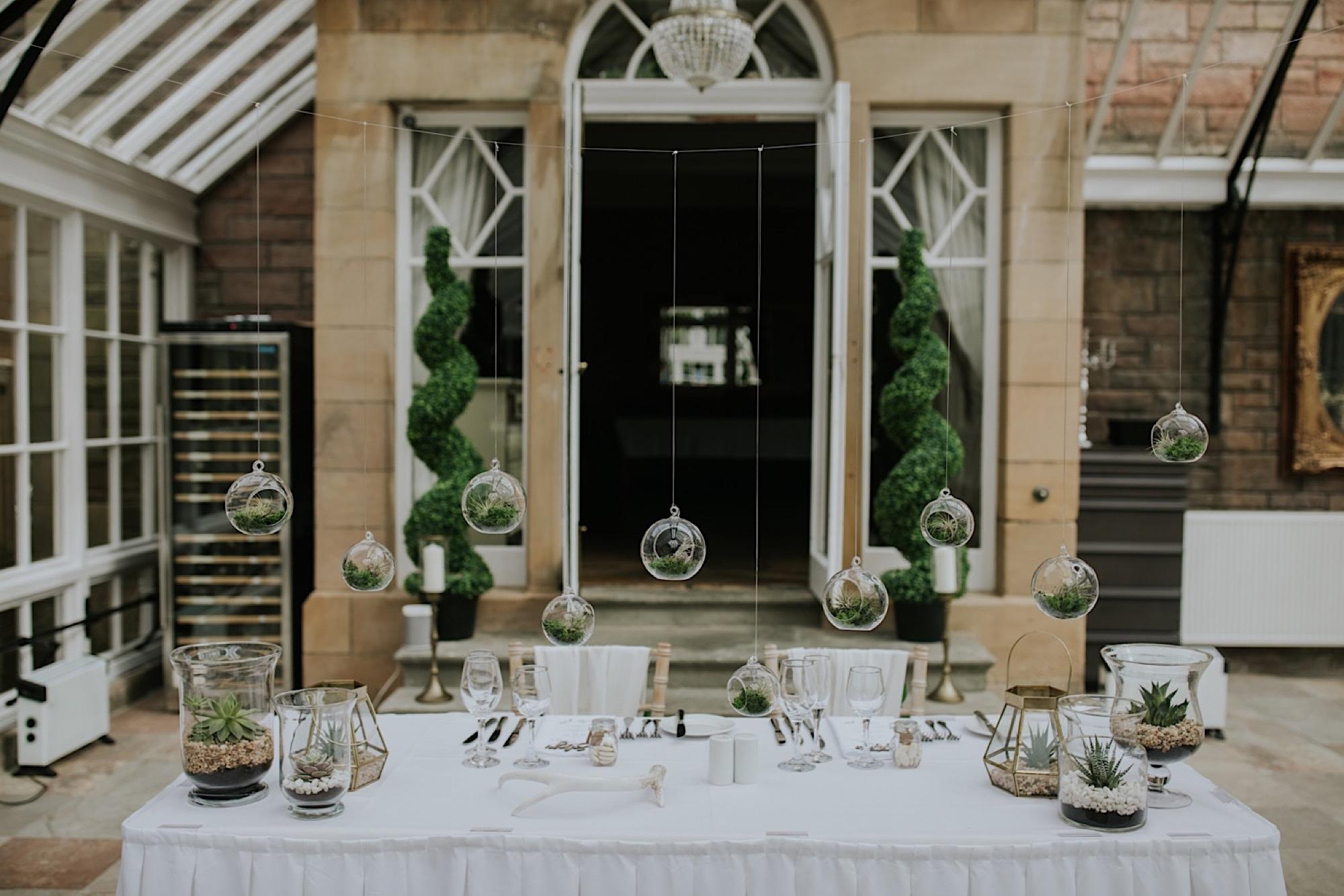 bohemian wedding decor scotland