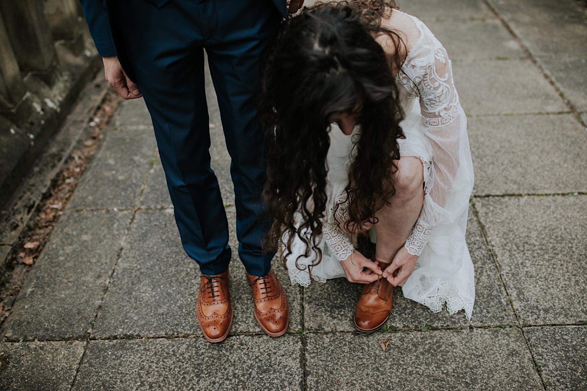 scottish bohemian elopement
