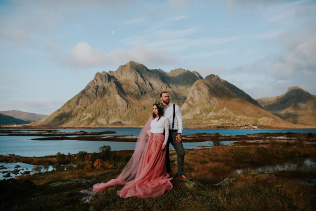 lofoten wedding photos