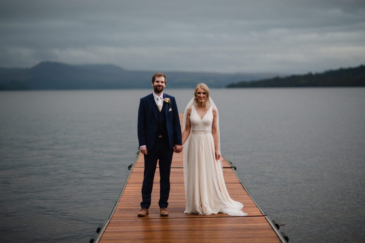 THE CRUIN LOCH LOMAND WEDDING