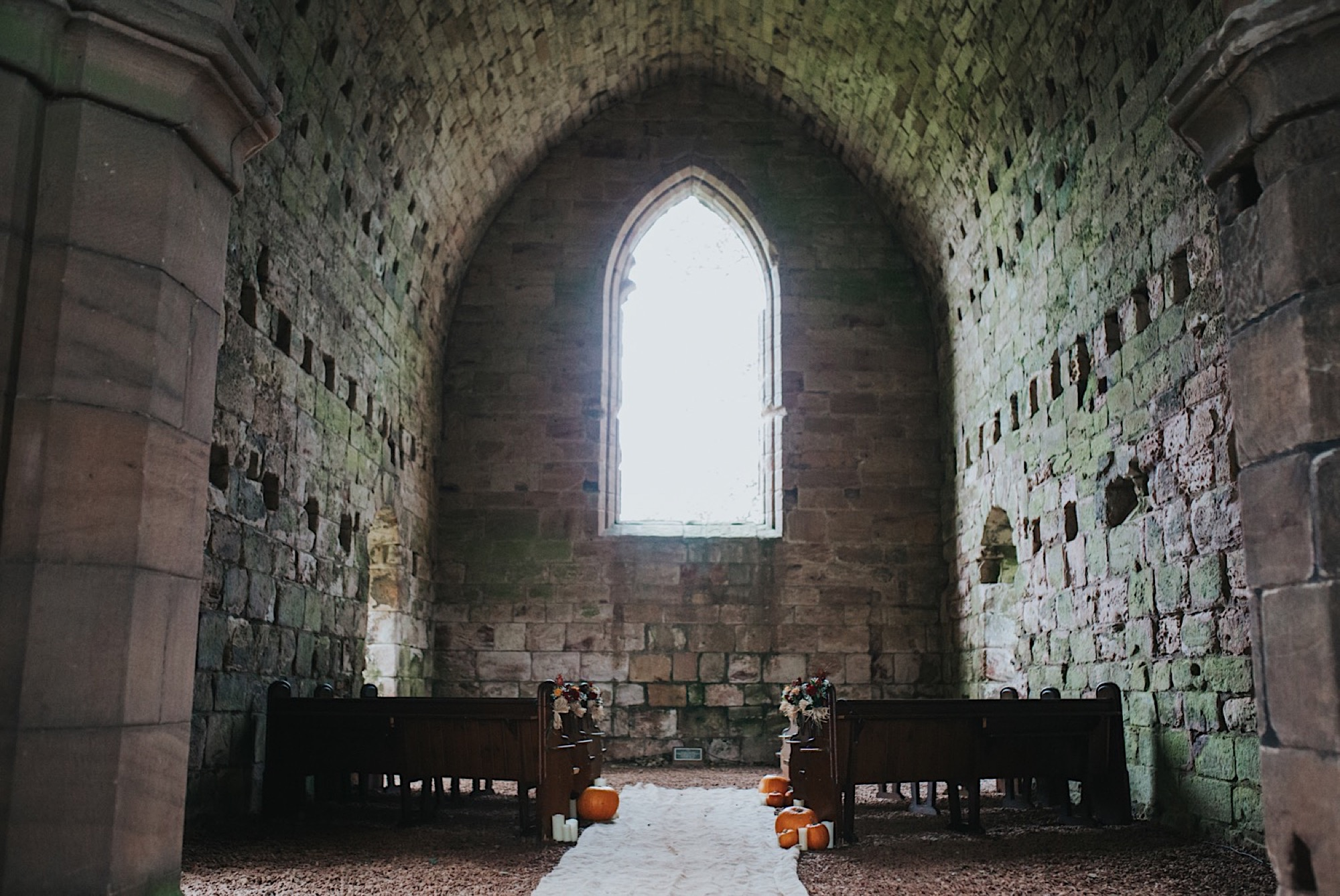 dunglass estate autumn wedding