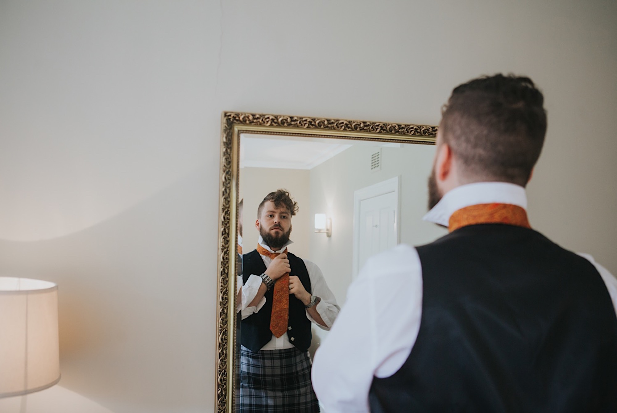 dunglass estate halloween wedding