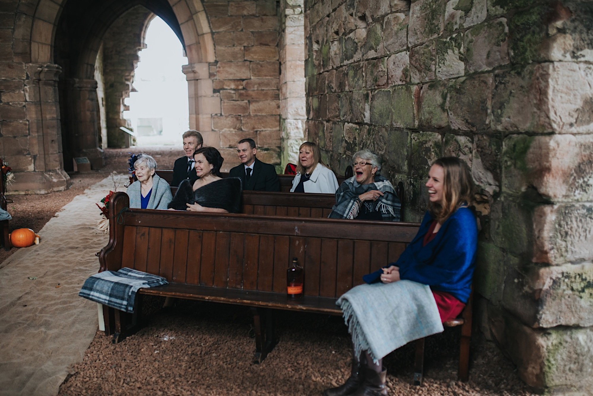 dunglass estate wedding ceremony
