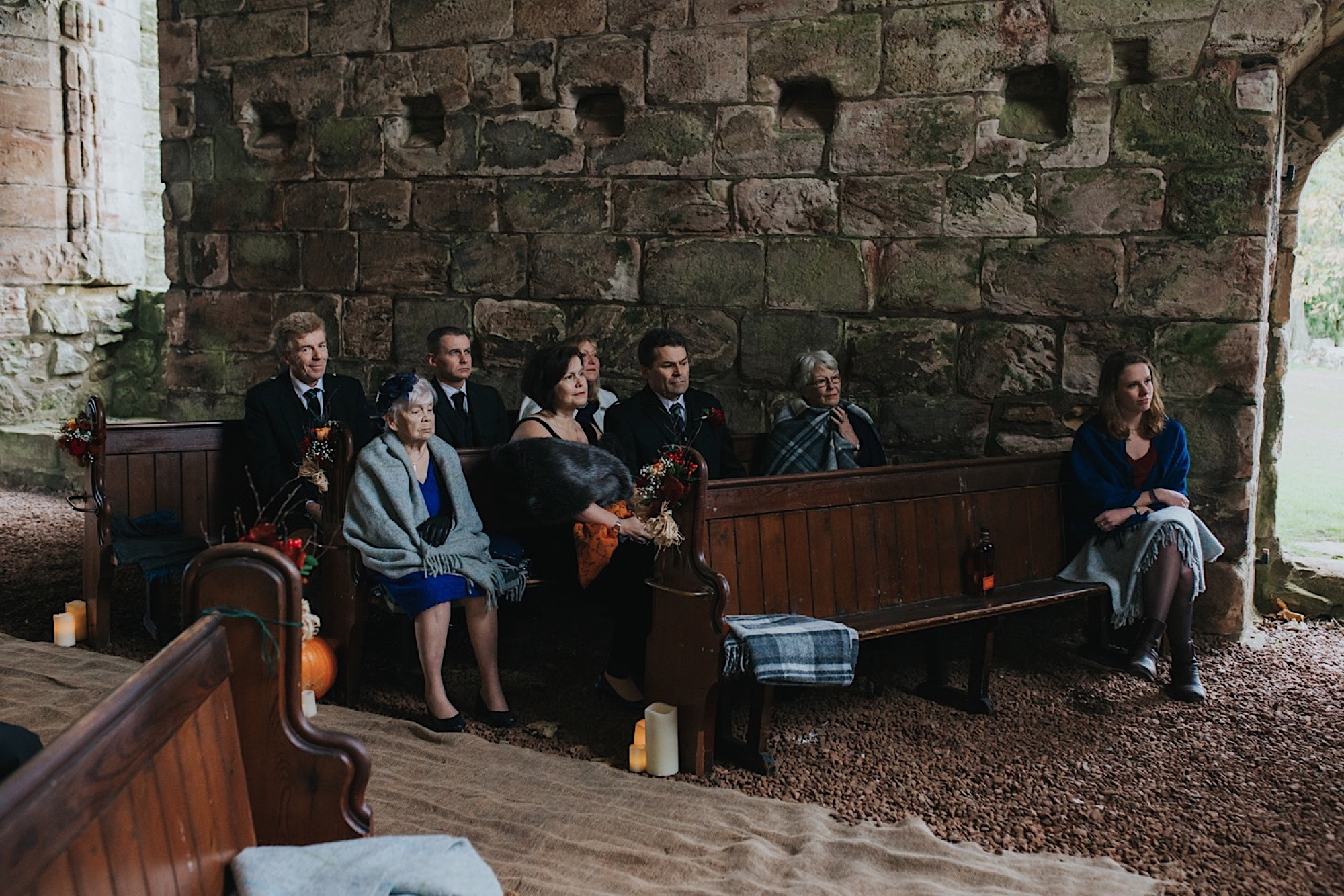 humanist wedding ceremony at dunglass estate