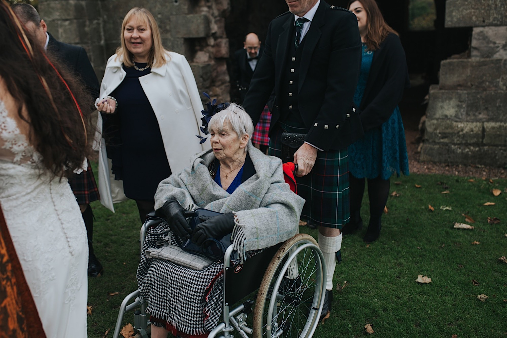 scottish wedding at dunglass estate