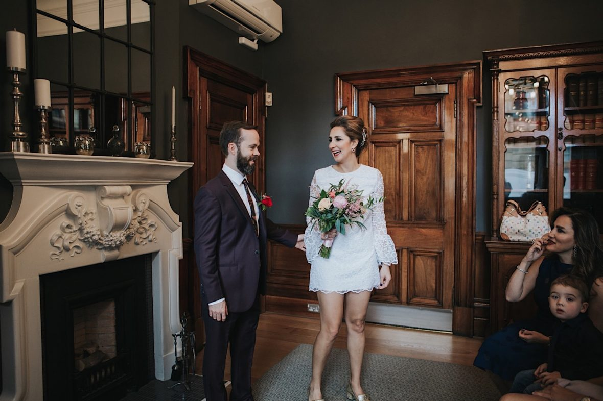 stylish glasgow elopement