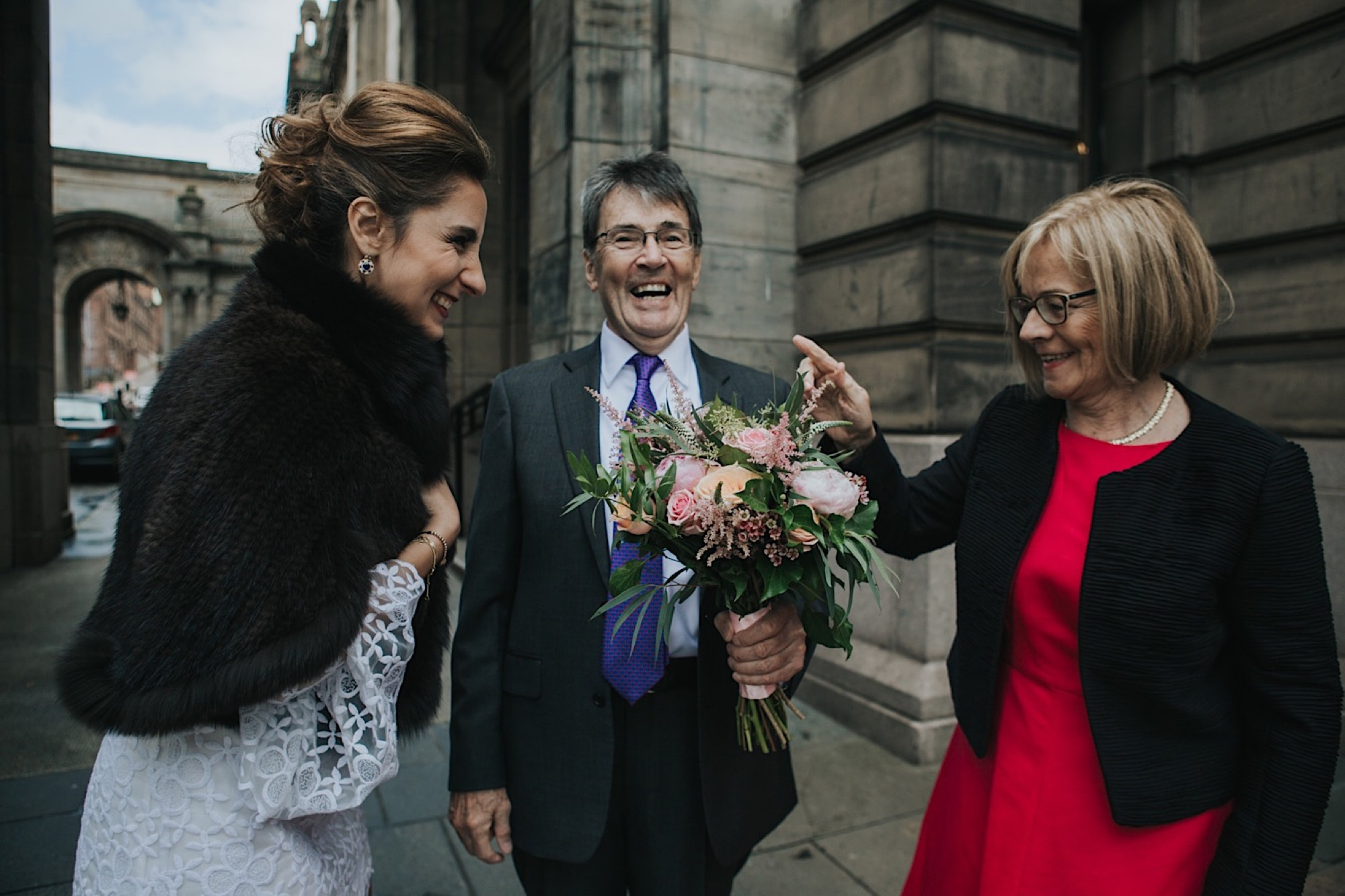 glasgow scotland elopement photographer
