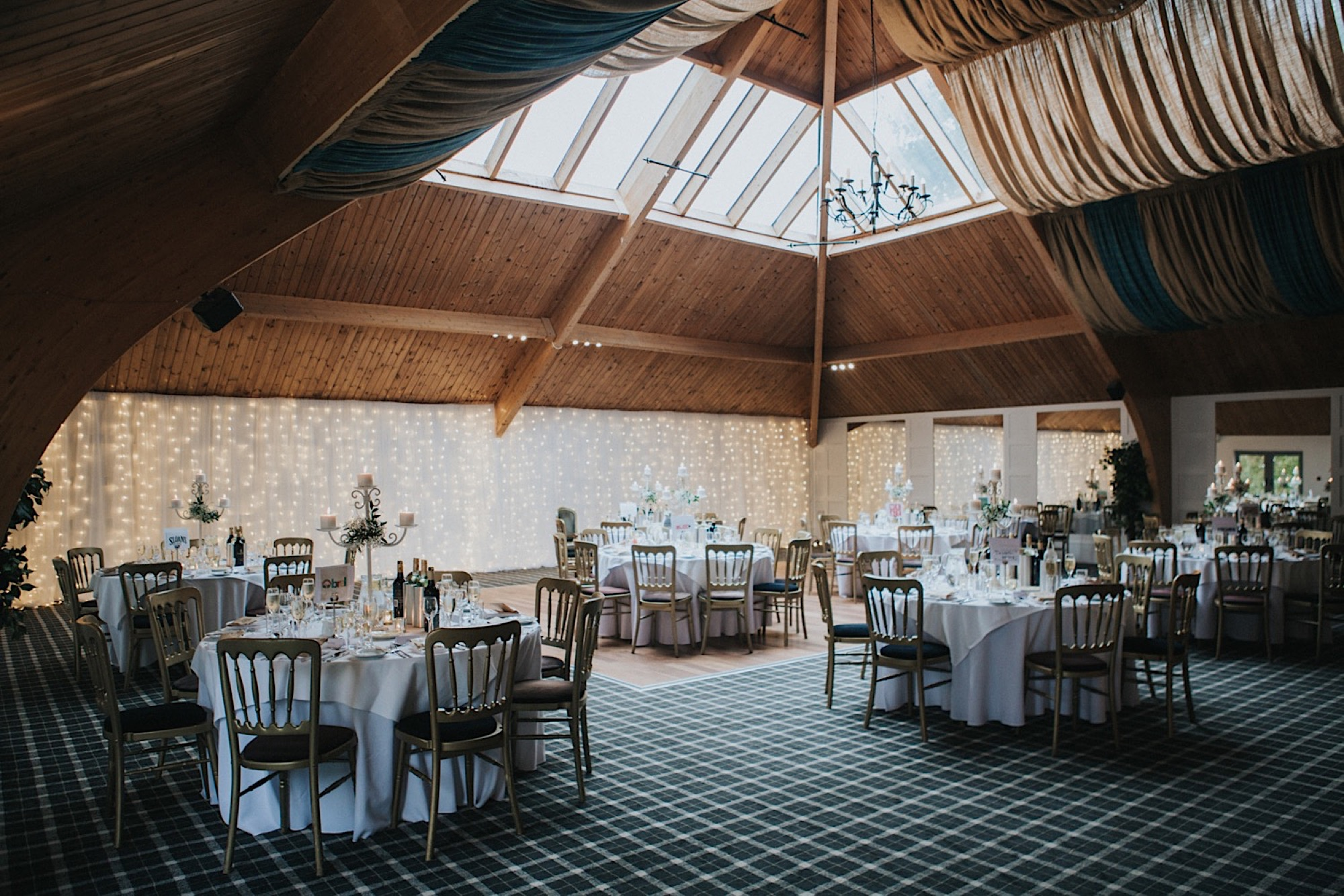 the cruin loch lomand rustic wedding details, tables names after glasgow bars