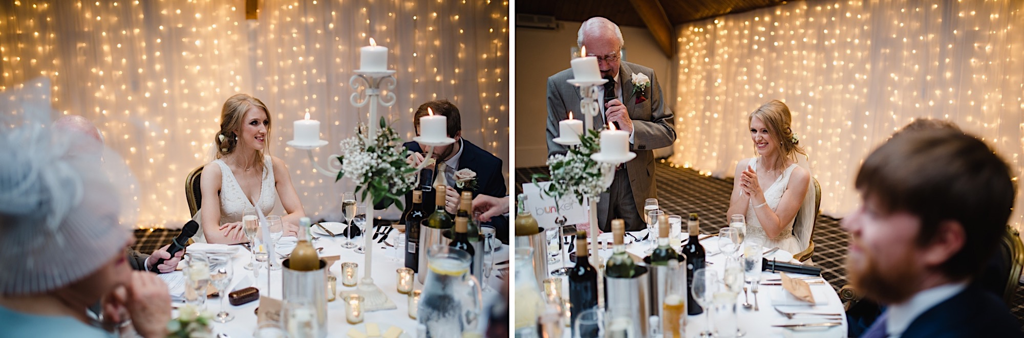 father of the brides emotional speech at loch lomand wedding