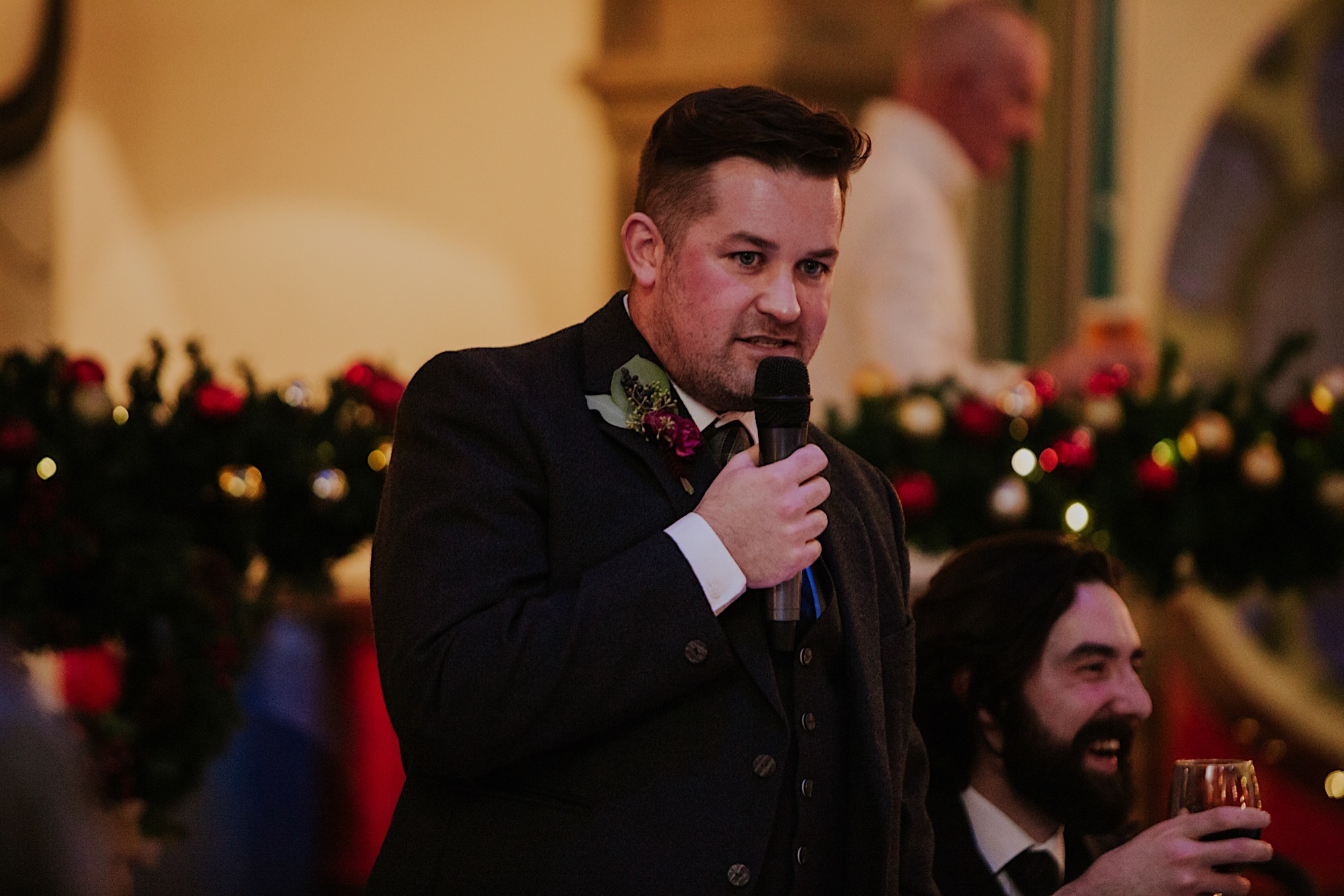 best man speech oran mor wedding