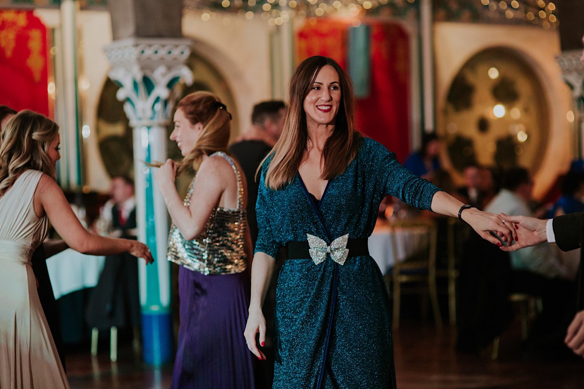 wedidng party dancing at oran mor glasgow