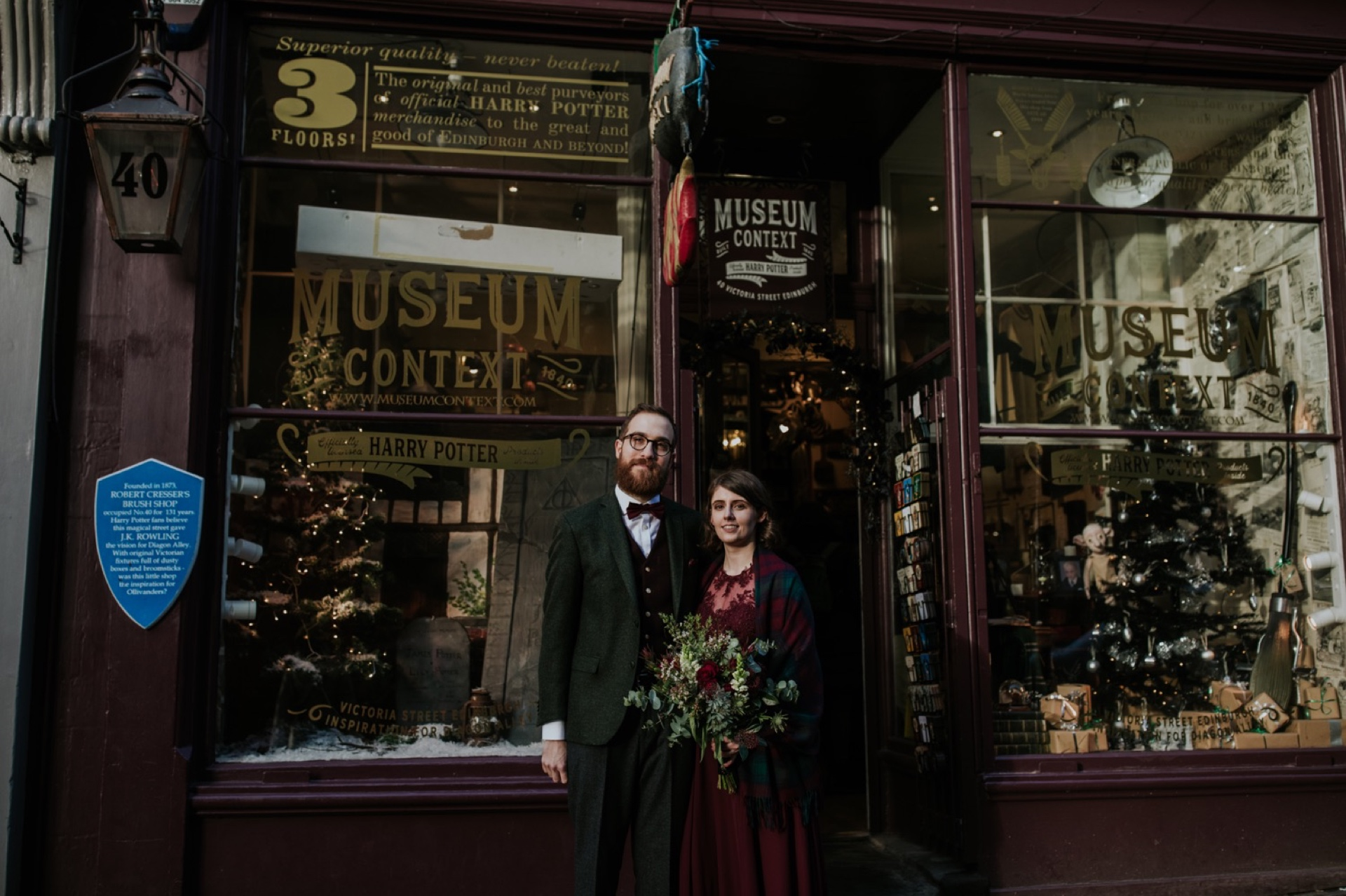 edinburgh harry potter elopement