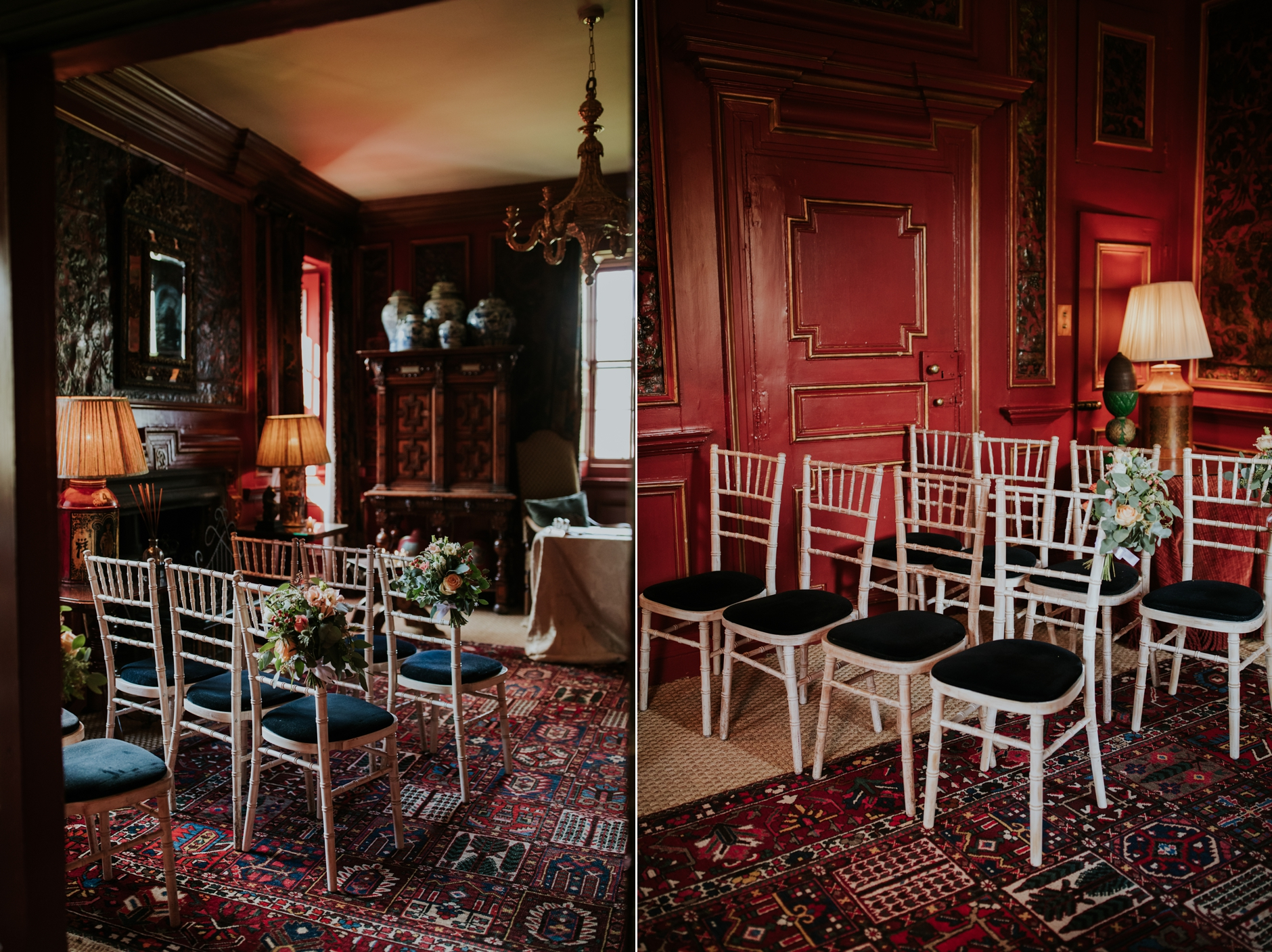 intimate micro wedding elopement at prestonfield house