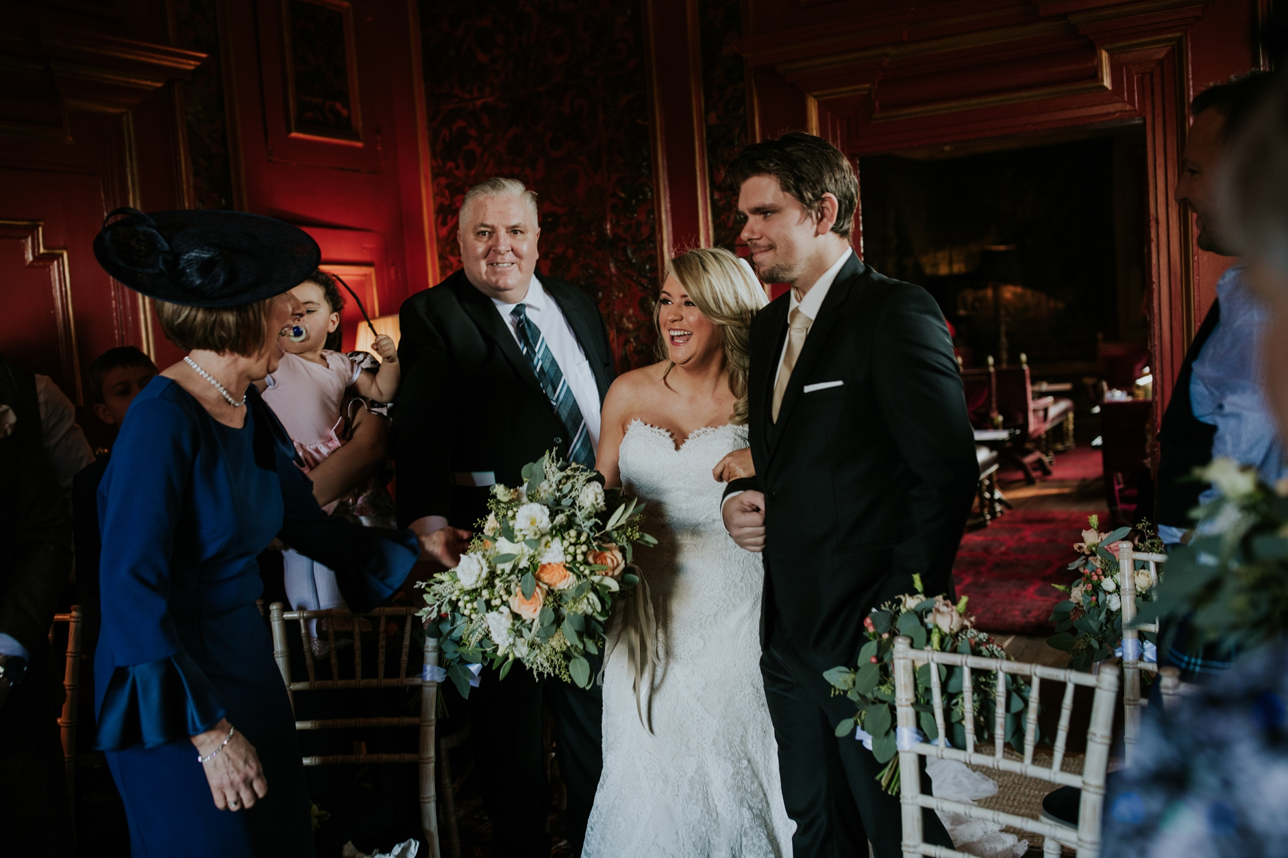 micro wedding edinburgh prestonfield house