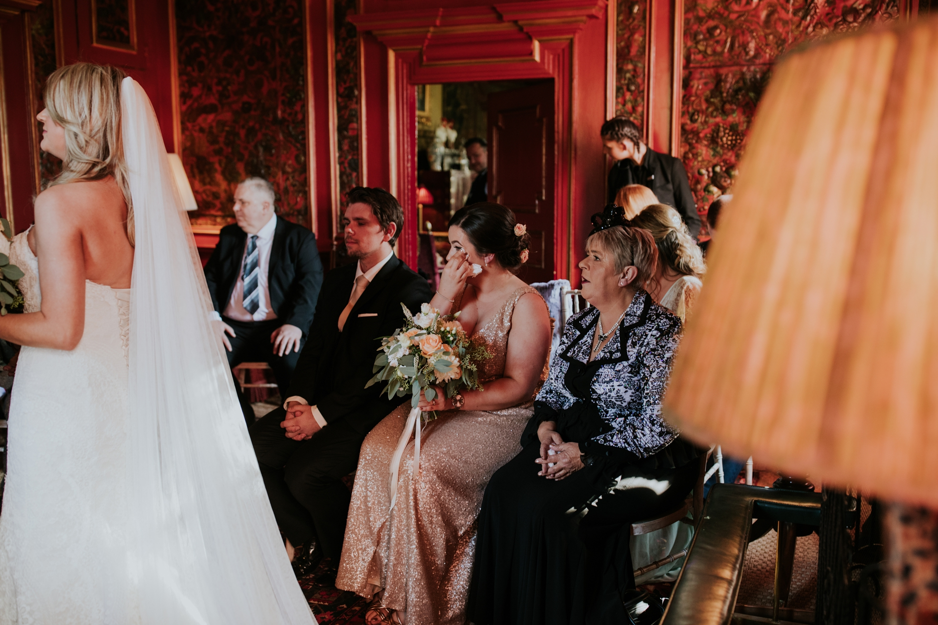 prestonfield house edinburgh intimate wedding
