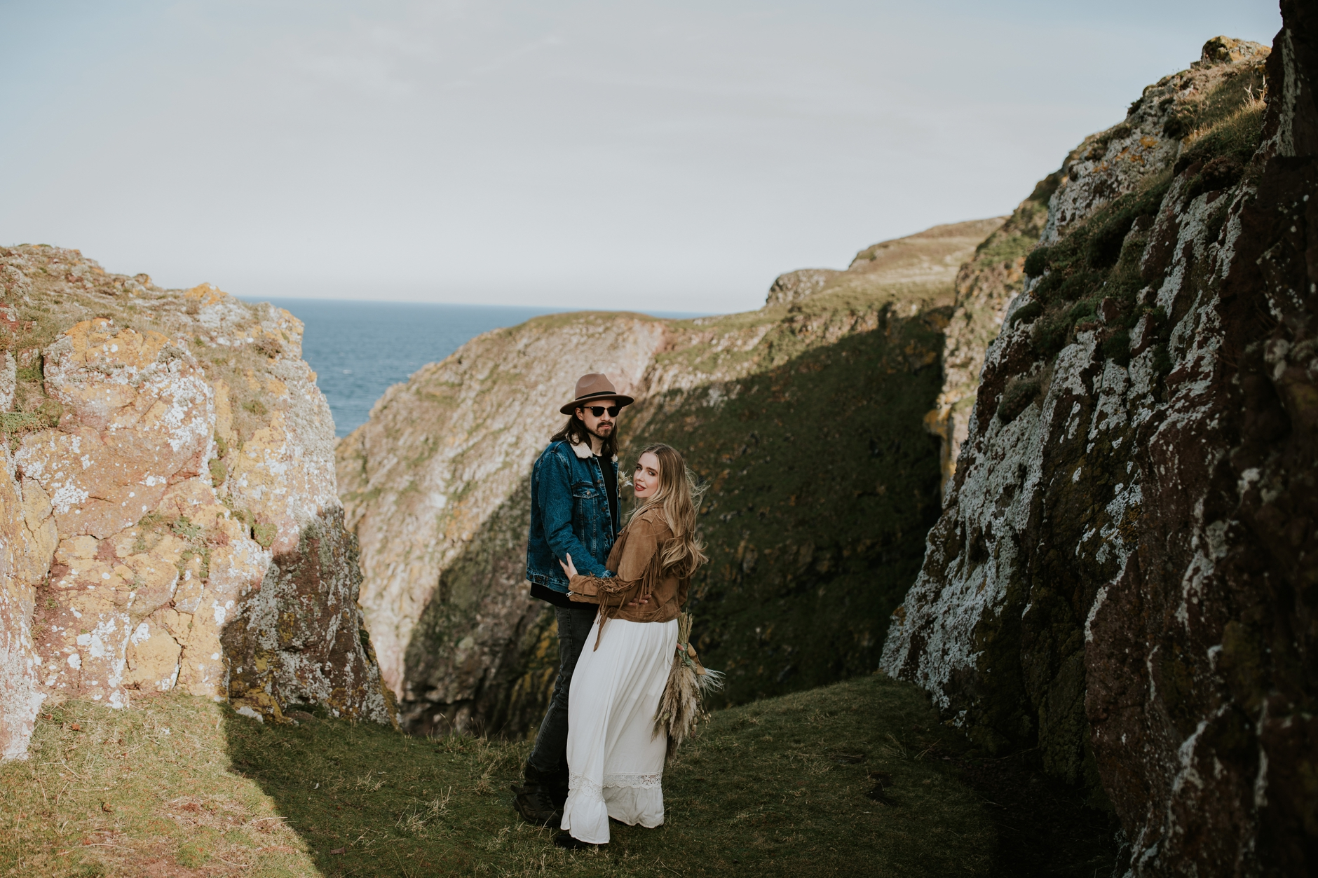st abbs engagement shoot