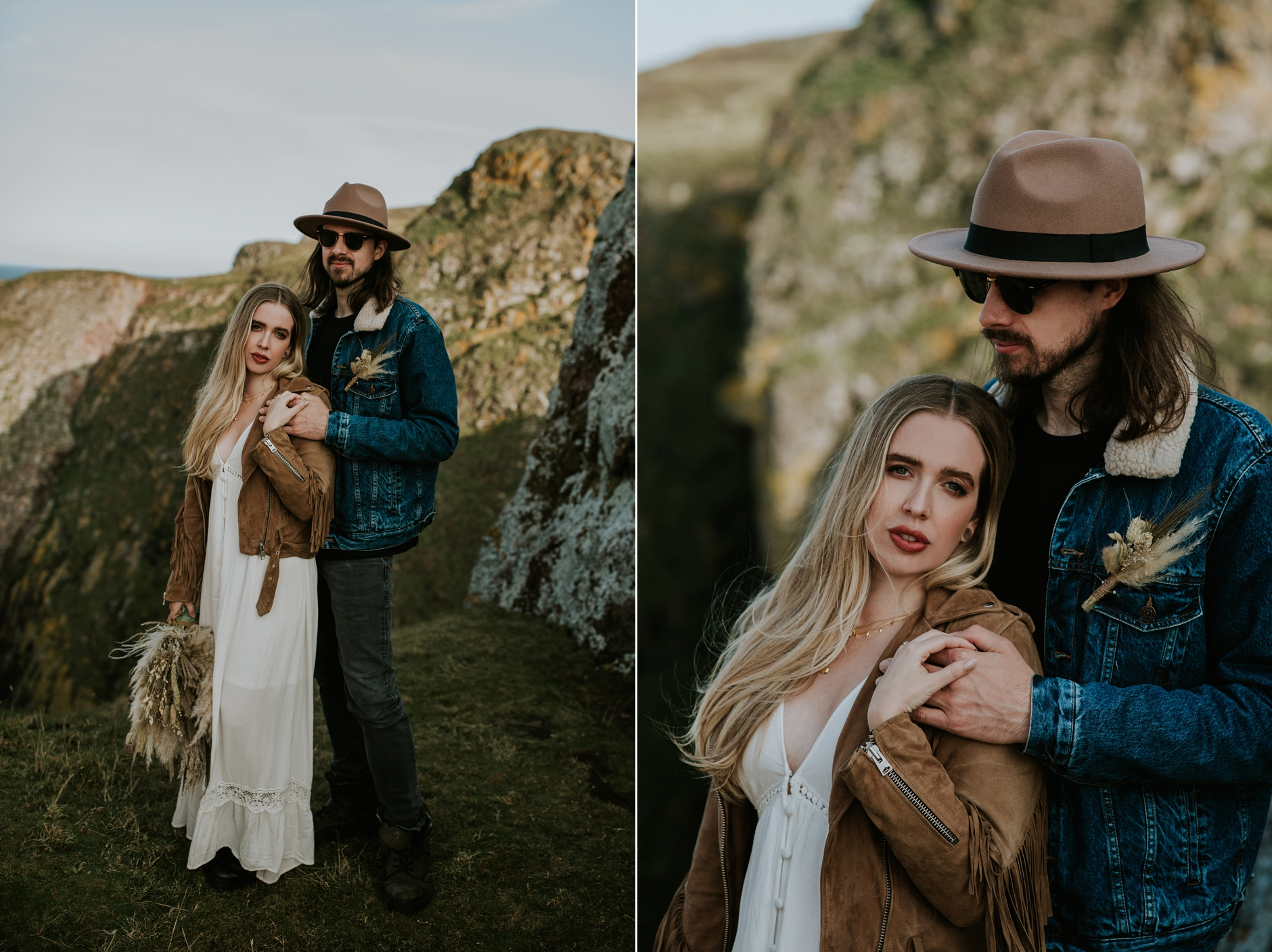 st abbs elopement photography