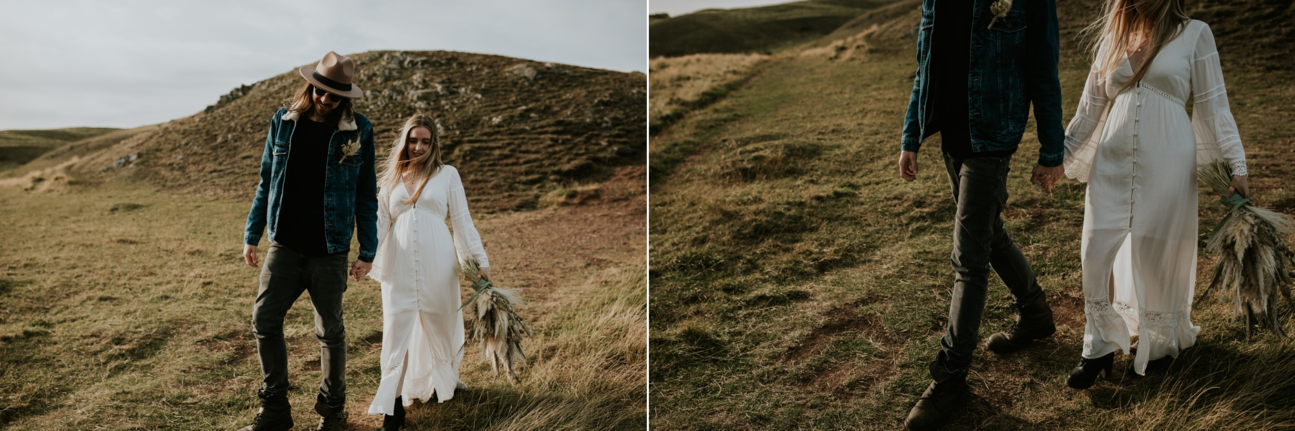 st abbs engagement photography
