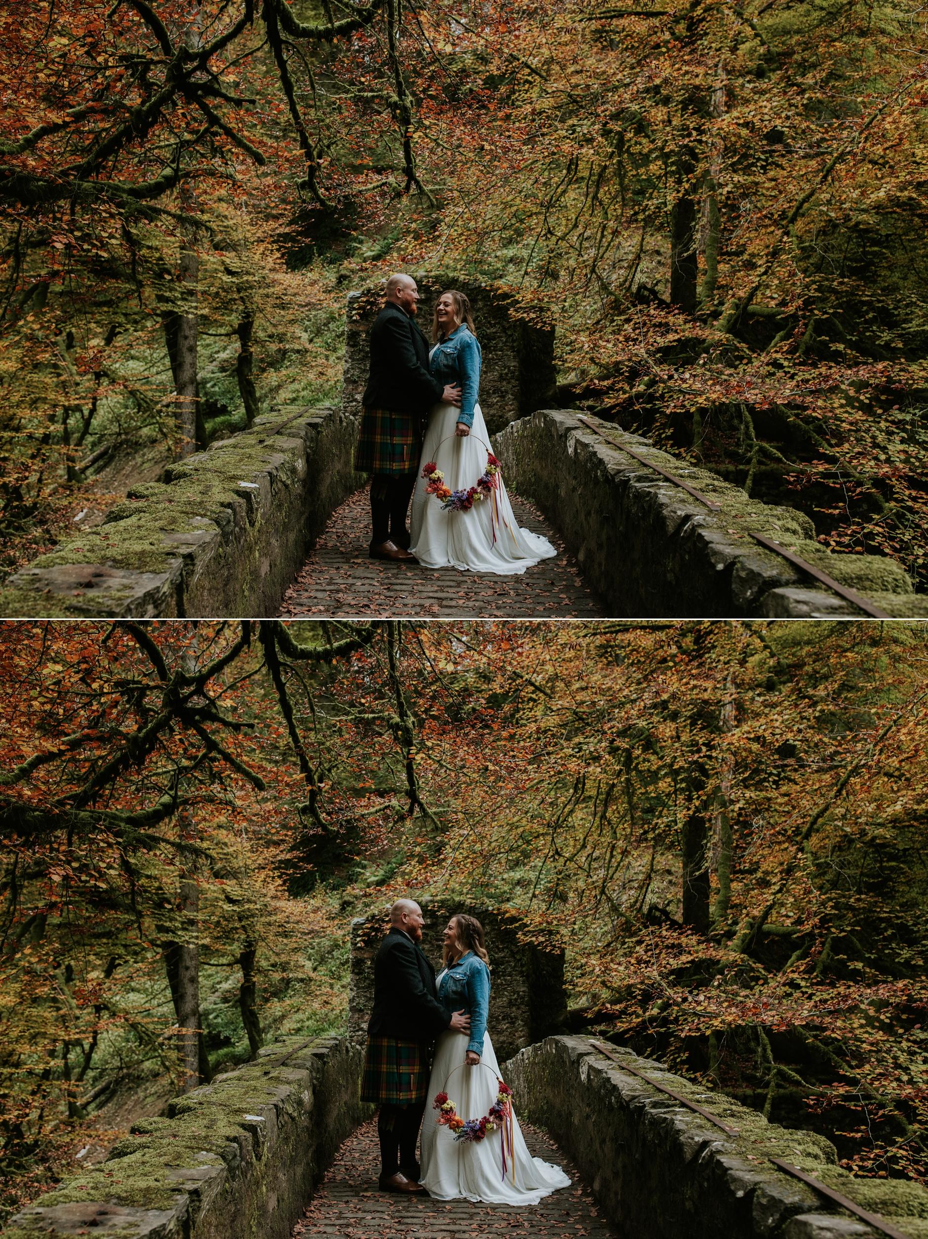 dunkeld elopement photographer