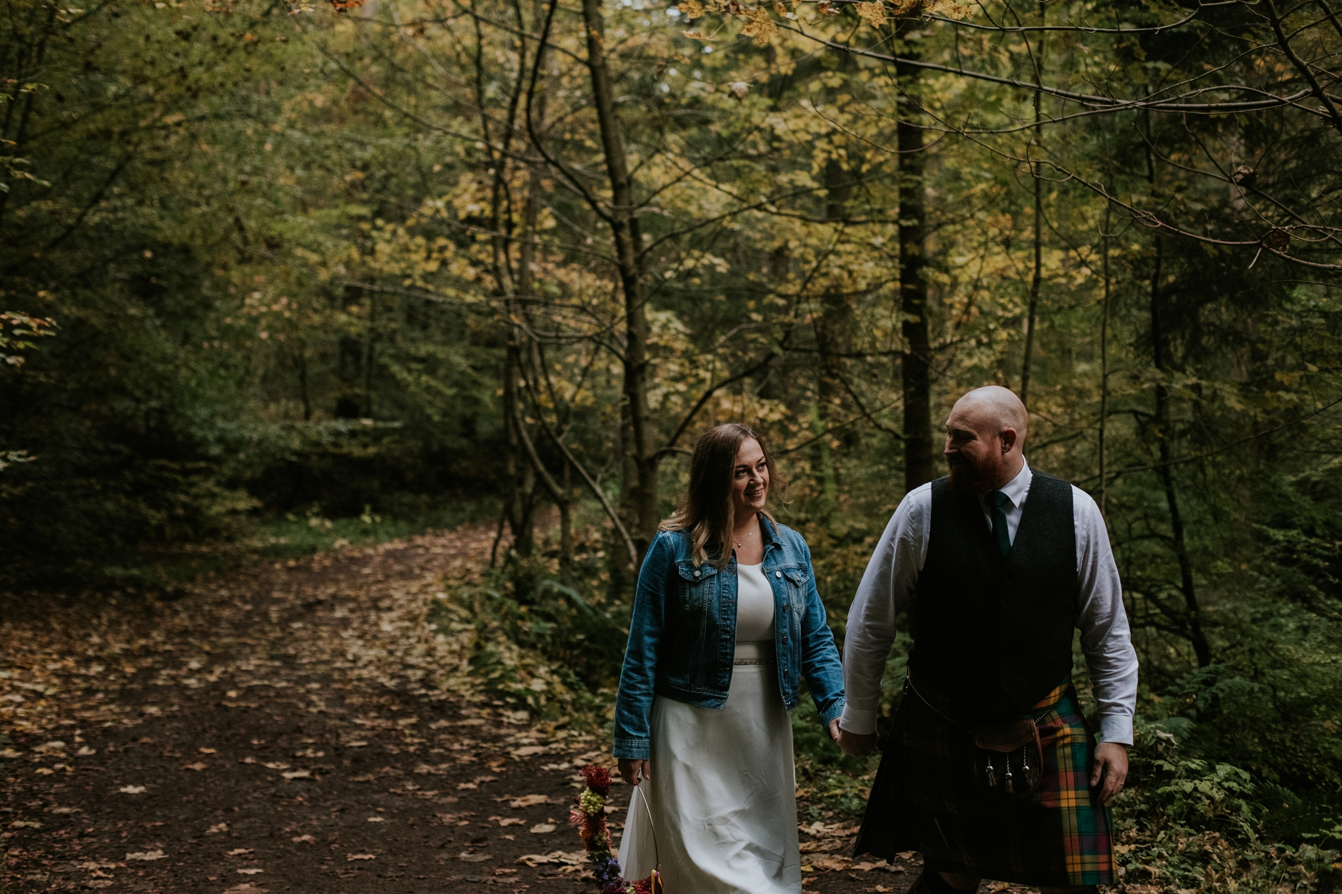 the hermitage dunkeld wedding photographer